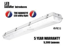 LED Utility Shop Light 4' Ft 44 Watts Instant-On 5,380 Lumens Garage BRAND NEW!