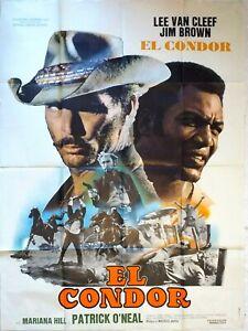 Plakat-Kino-Western-El-Condor-Jim-Brown-Lee-Van-Cleef-120-X-160-CM