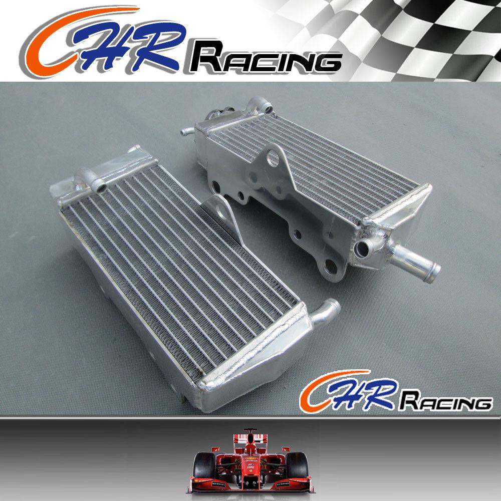 Aluminum Radiator /& RED hose for HONDA CR125R//CR125 1990-1997 1991 1992 1993 96