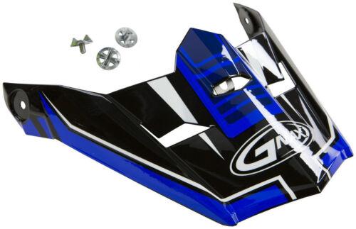 GMAX MX-46 substituição da viseira Tio Preto//Azul