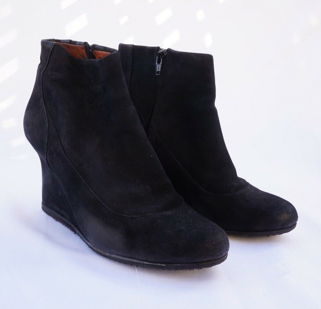 Man/Woman LANVIN SUEDE WEDGE BOOT Customer first Strong value Extreme speed logistics