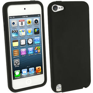 Black-Silicone-Skin-Case-for-Apple-iPod-Touch-6th-5th-Generation-itouch-Cover