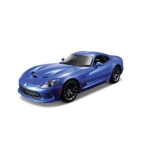 Maisto-1-24-Costruire-il-Proprio-Pressofuso-Edizione-Speciale-Dodge-Viper-GTS