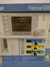 Draeger Fabius GS Anesthesia Machine -VC/PC/PS- SN ARYE-0167 - BioMed Certified!