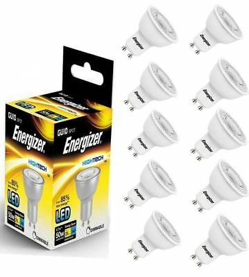 Eerlijk 20 X Energizer Gu10 Led Light Bulb 350lm Spot 5w=50w Warm White 3000k 36°