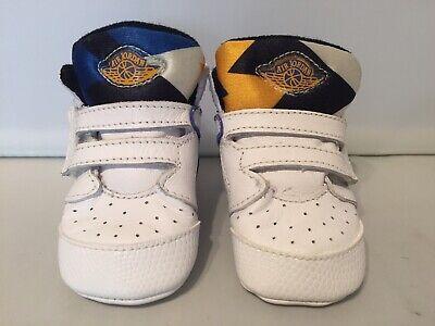 Air Jordan Infant Shoes Size 1C White