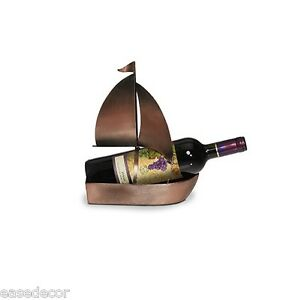 Image Is Loading White Or Red Wine Bottle Holder Sailboat Boat