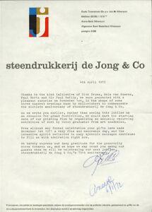 1972-Steendrukkerij-De-Jong-LIBER-AMICORUM-Bayer-ZWART-Martens-CROUWEL-Eksell-BK