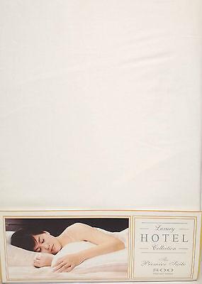 Bettwaren, -wäsche & Matratzen Bettwäschegarnituren Aggressiv 800 Fadenzahl Einzelbett Passendes Leintuch Weiß 33cm Tiefer Box Luxus Erfrischend Und Wohltuend FüR Die Augen