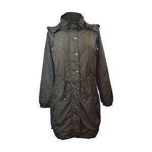Women/'s Long Sleeve Cotton Jacket Mandala Pattern Ladies Trench Coat
