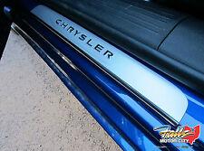2015-2017 Chrysler 200 Stainless Steel Door Sill Guard Protectors Mopar OEM