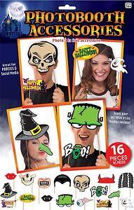 Halloween Photo Booth Kit, Fête Chambre Décoration/déguisements/accessoires-cy Dress/props Fr-fr Afficher Le Titre D'origine Vous Garder En Forme Tout Le Temps