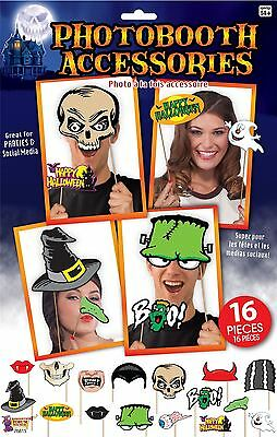 Kit Photo Booth Halloween, Festa Decorazione Per Soggiorno/costume/guadagni-cy Dress/props It-it Mostra Il Titolo Originale