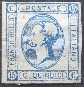 Regno-1863-15c-n-13d-nuovo-senza-gomma-con-buoni-margini