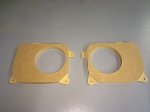 size 6 1//2 Toyota Aristo V300//Lexus GS300 Rear door MDF Speaker baffles
