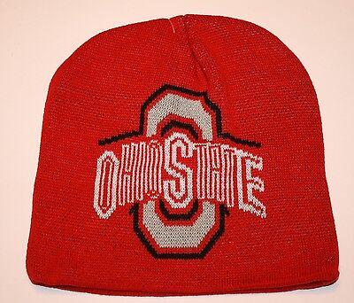 Ohio State Buckeyes Knit Beanie Toque Winter Hat Skull Cap