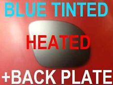 BMW M3 E36 TUNNING WING GLASS MIRROR BLUE HEATED CONVEX +PLATE RIGHT OR LEFT
