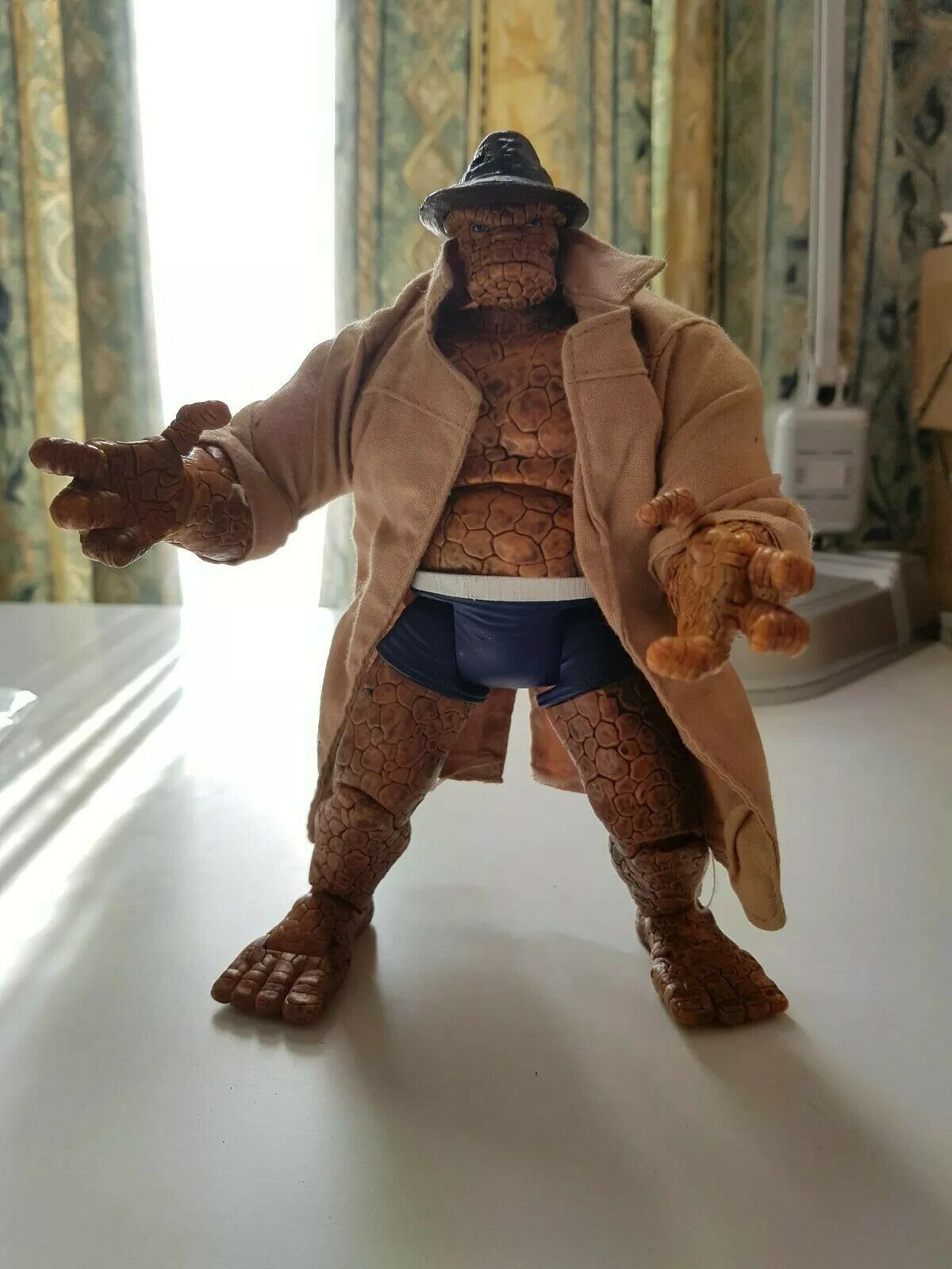 Marvel Legends Trench Trench Trench Coat The Thing Figure 3521a6