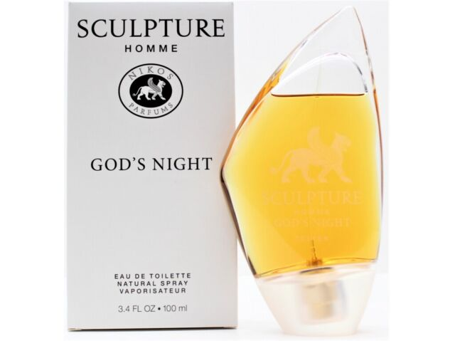 Sculpture God S Night By Nikos Edt Spray 3 4 Oz Tester For Sale Online Ebay
