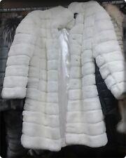 Luxus Echt PELZ Mantel Echt FELL Moderne CHINCHILLA Jacke