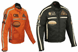 motorrad textiljacke sommer motorradjacke textil herren motorradjacke herren ebay. Black Bedroom Furniture Sets. Home Design Ideas