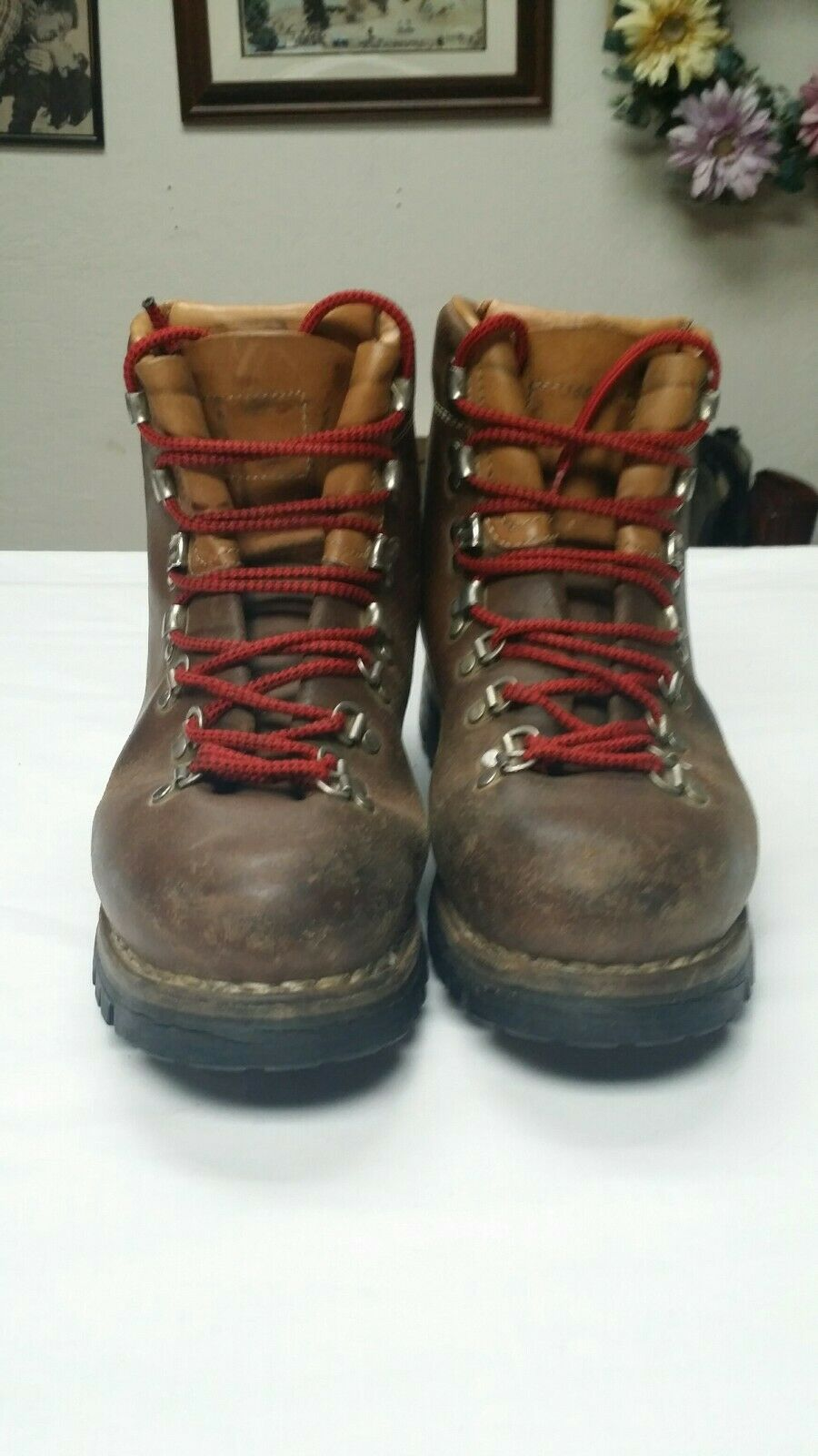 VASQUE CLASSIC NORWEGIAN WELT HIKING Stiefel QUALITY LEATHER THROUGHOUT