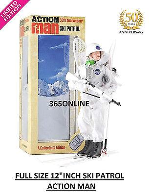 "Ski Patrol Action Man 50th anniversary 12/"" Figures Limited Edition"