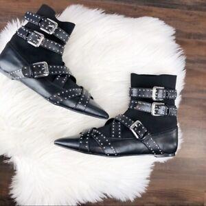 Zara Size 35 EU 5 US Studded Buckle