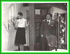 """CLARA CALAMAI & VITTORIO DE SICA in """"L'Avventuriera del Piano di Sopra"""" Or. 1941"""