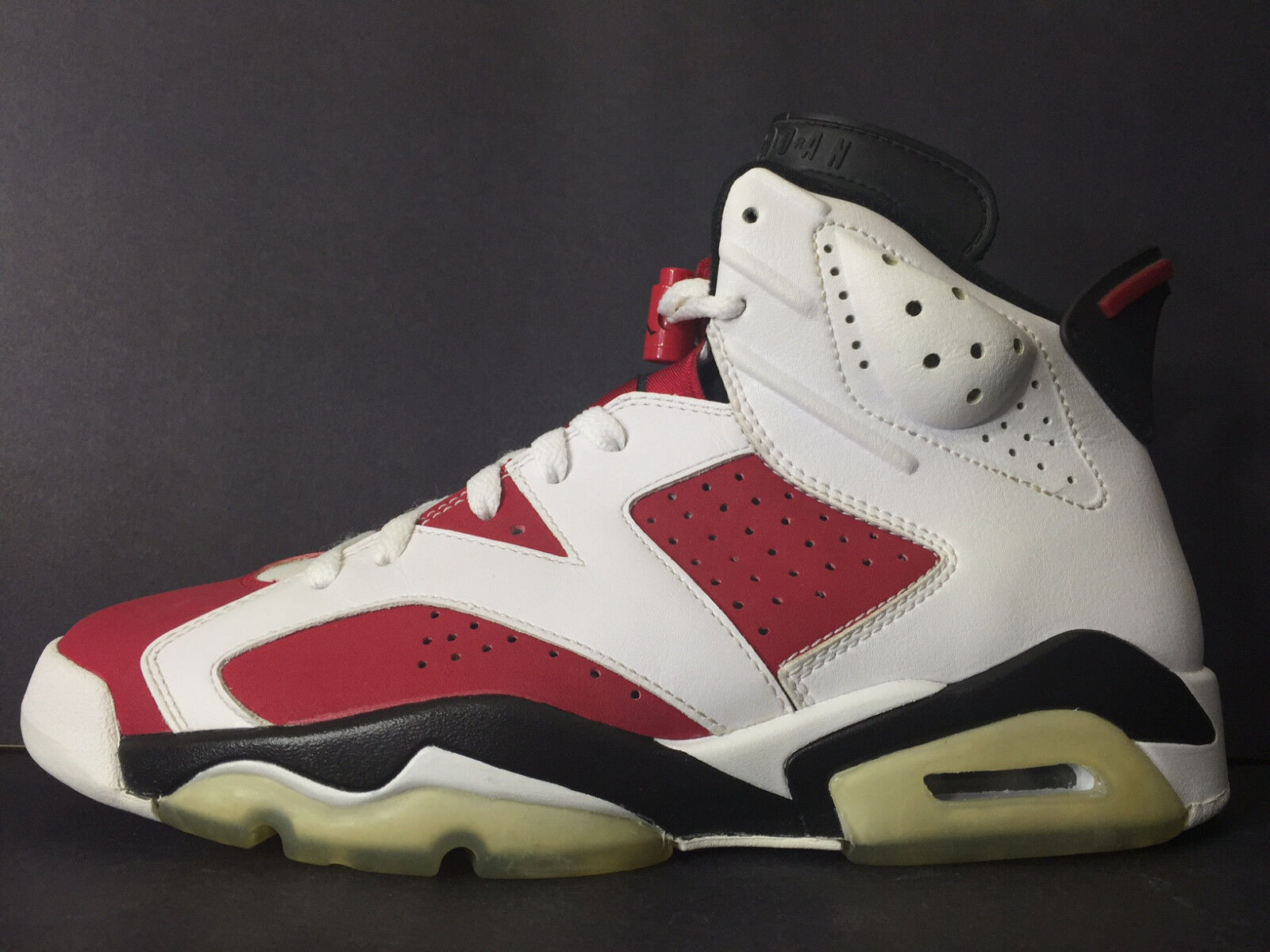 3a73714446861c ... 2008 2008 2008 DS NEW NIKE AIR JORDAN VI 6 RETRO CDP CARMINE MEN 7.5  WOMEN ...