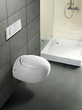Burgtal 17713 Keramik Hänge Wand WC Toilette Kreta inkl. WC Sitz BWC-06