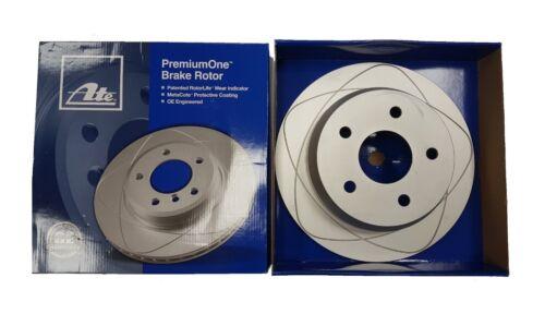 WJ//WG 2 x ATE PremiumOne REAR BRAKE DISC 1999-2004 JEEP GRAND CHEROKEE