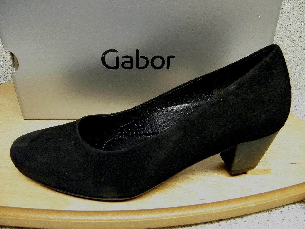 Gabor ®  SALE  bisher    schwarz Pumps superbequem  (D129)