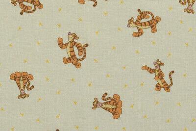 100/% Cotton Tigger Fabric Curtains /& Cushions Winnie the Pooh