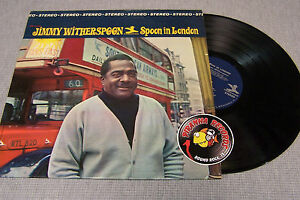 Jimmy-Witherspoon-Spoon-In-London-Soul-R-amp-B-LP-Prestige-PRST-7418-Piranha-Records
