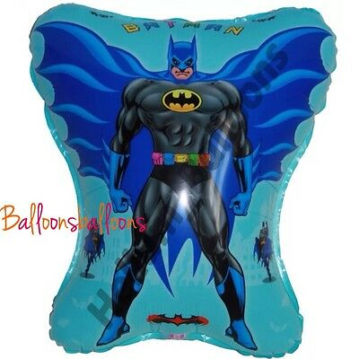 JUSTICE LEAGUE SUPERMAN SUPERHERO AIR FILL BALLOON BIRTHDAY PARTY BAG FILLER TOY