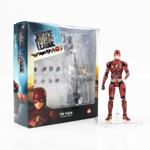 """6/"""" Justice League The Flash Action Figure MAF058 PVC Collection Model Toy"""