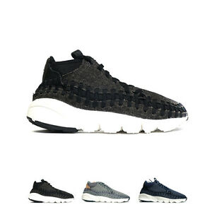 premium selection 0ac9f f6b48 Image is loading Nike-Air-Footscape-Woven-Chukka-SE-Running-Shoes-