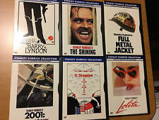 Stanley Kubrick Collection DVD's 7 Disc Set Shining Full Metal Jacket
