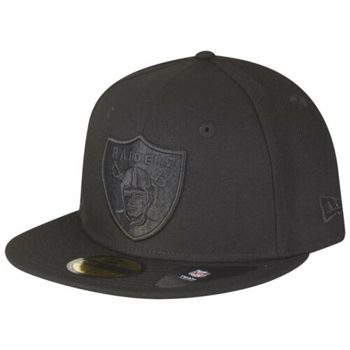 POLY Oakland Raiders New Era 59Fifty Fitted Cap
