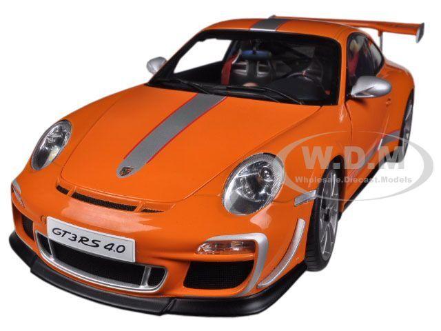 PORSCHE 911 (997) GT3 RS 4.0 orange orange orange 1 18 DIECAST MODEL CAR BY AUTOART 78148 65f973