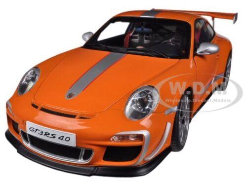 PORSCHE 911 (997) GT3 RS 4.0 ORANGE 1/18 DIECAST MODEL CAR BY AUTOART 78148