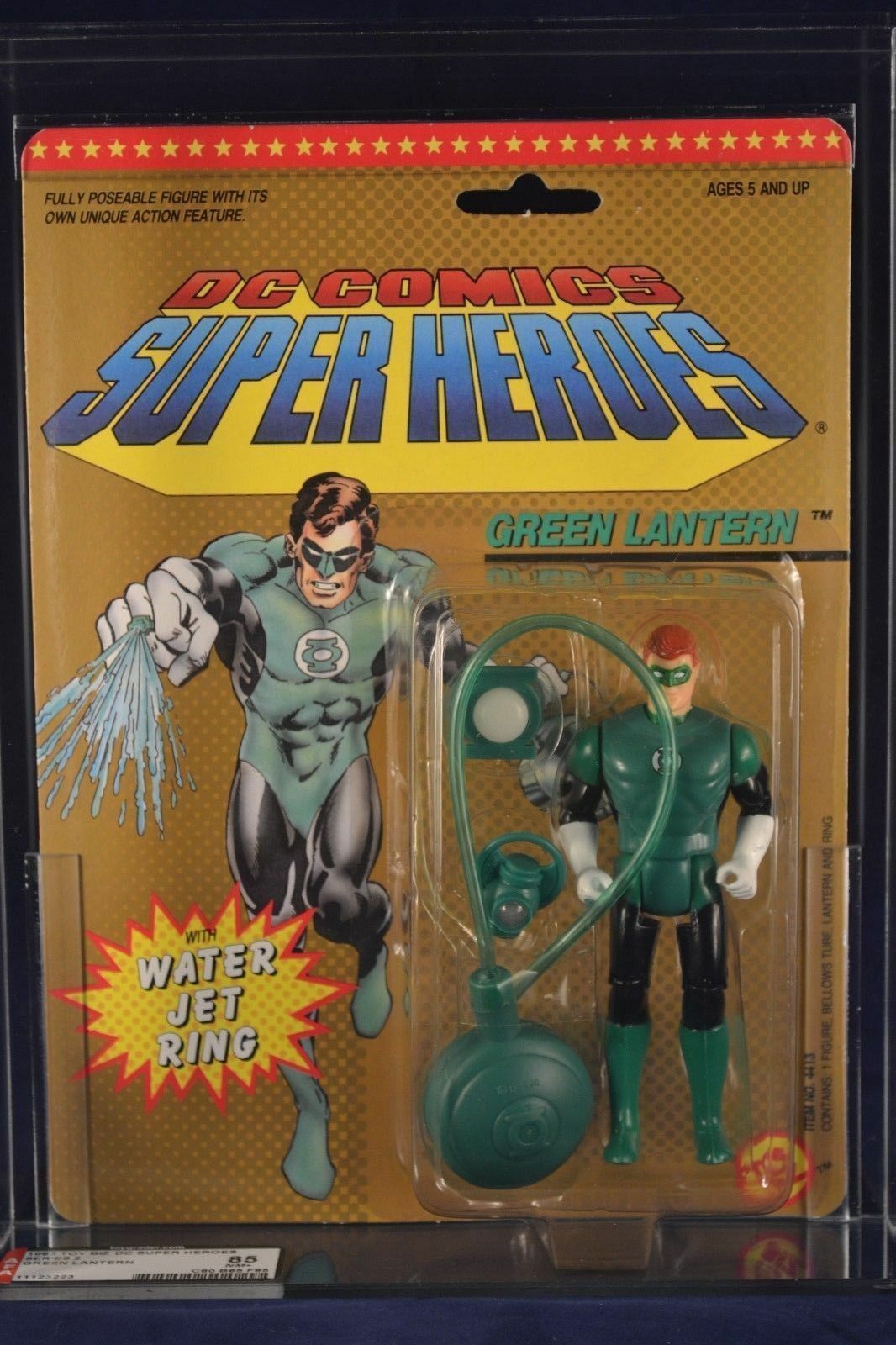 Toybiz DC Super Heroes Green Lantern Action Figure AFA 85 MOC