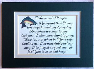 FISHERMAN-PRAYER-BASS-Trout-Fishing-Pole-FISH-Basket-LURES-verses-poems-plaques