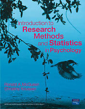 Introduction to Research Methods and Statistics in Psychology by Christina Knuss