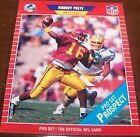 1989 Pro Set Rodney Peete #521 Football Card