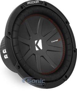 KICKER-43CWR104-800W-10-Inch-CompR-Dual-4-Ohm-Car-Subwoofer-Car-Audio-Sub-Woofer
