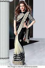 Veeraa Bollywood Saree Exclusive Beautiful Designer Indian Partywear sari 120