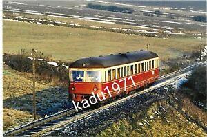 E39) Foto KNE. VT 101. Hattenbergsteigung Kassel.  Triebwagen Eisenbahn. 1969