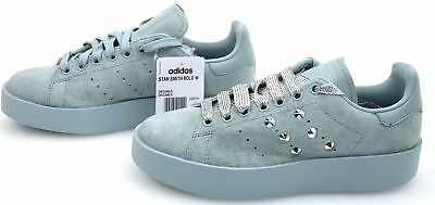 adidas stan smith bold donna bianche